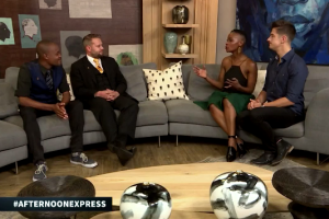 Marcel interviewed about Cape Town Magic Club on SABC3 Afternoon Express