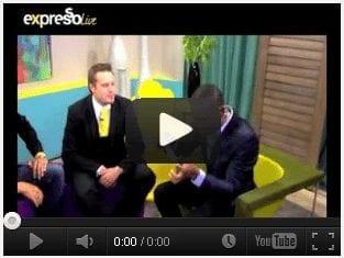 Marcel Oudejans magician on Expresso SABC