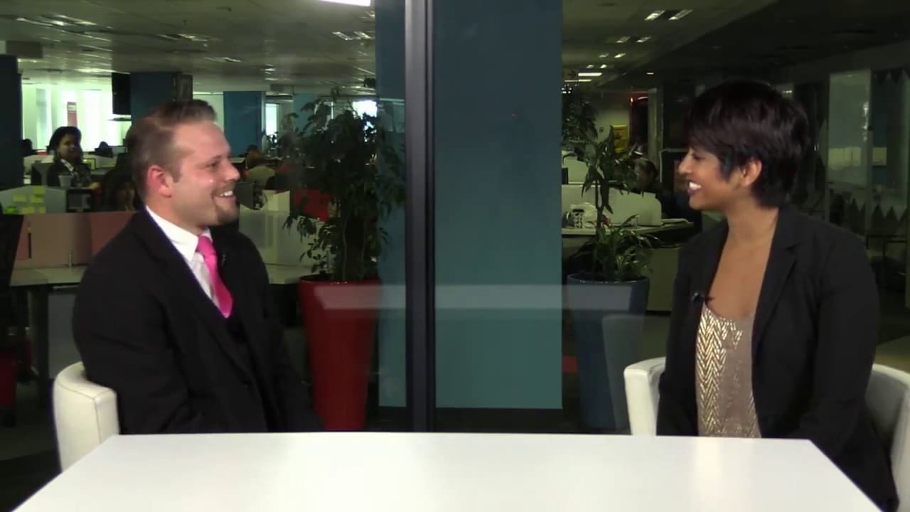 Marcel Oudejans performs on this News24 Video
