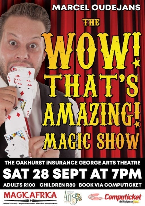 """The """"Wow, That's Amazing!"""" Magic Show Poster George 2019"""