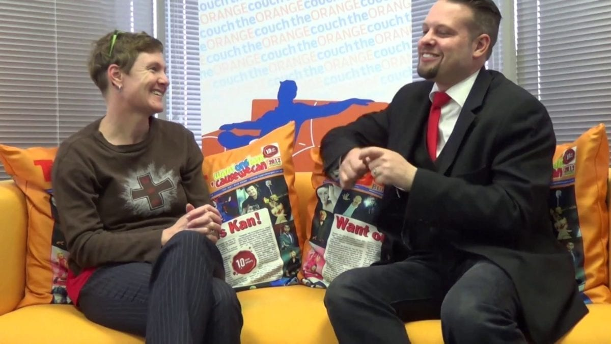 Magician Marcel Oudejans is interviewed by TygerBurger newspaper in this video